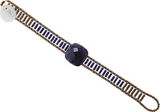 Ziio Jewellery Bracelet for Women, Iridescent Grey, Silver, 2017, One Size