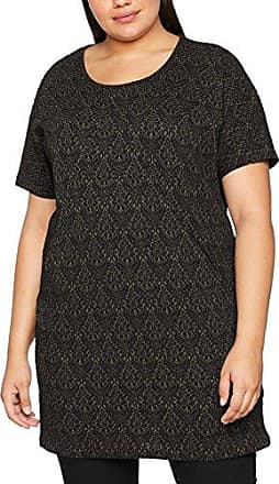 Zizzi T-Shirt In One, SS, Camiseta para Mujer, Rot (Garnet 1354), 48 (Talla del Fabricante: Medium)