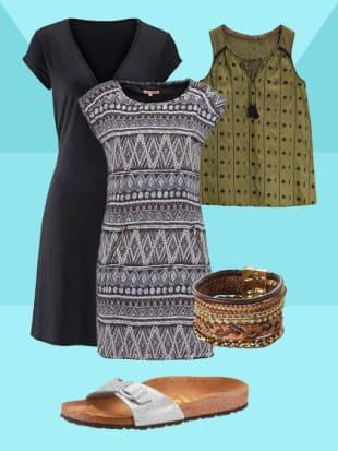 3 stylingtricks f r boho style kleider stylight. Black Bedroom Furniture Sets. Home Design Ideas
