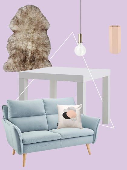 """1 Teil, 5 Looks: So passt der """"Lack""""-Tisch von Ikea zu JEDEM Wohnstil"""