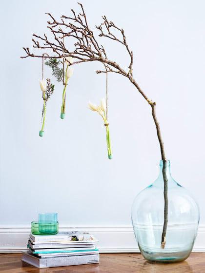 Wir wollen Frühling, jetzt! 3 Blumendekorationen zum Nachmachen!