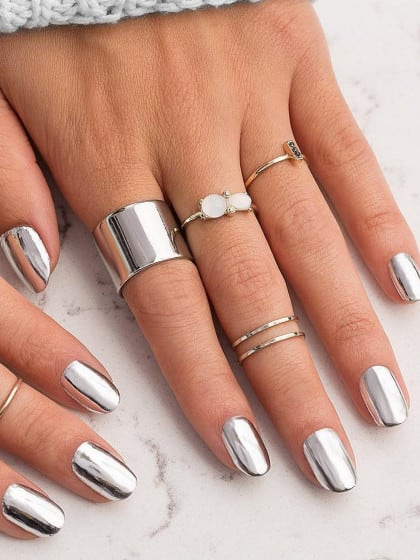 Chrome Nails:2017's Biggest Nail Trend | Stylight