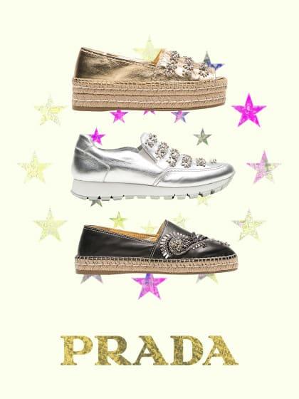 Schnell zugreifen: Die neue Prada-Schuh-Kollektion ist super-limitiert