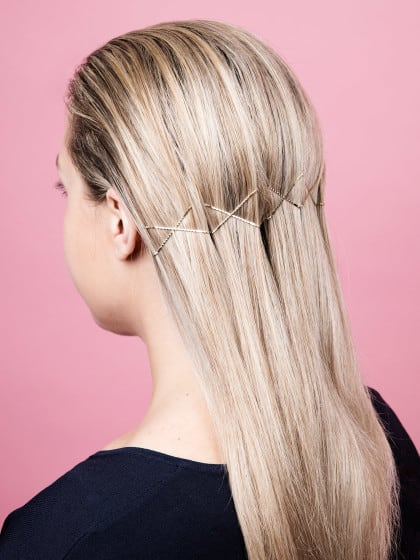 wet hair styles 4 einfache frisuren f r langes nasses. Black Bedroom Furniture Sets. Home Design Ideas