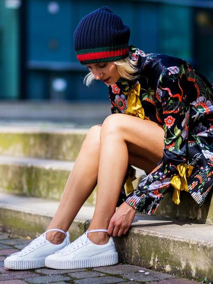 So habt ihr eure Sneakers noch nie getragen (und werdet es ab jetzt immer tun)!