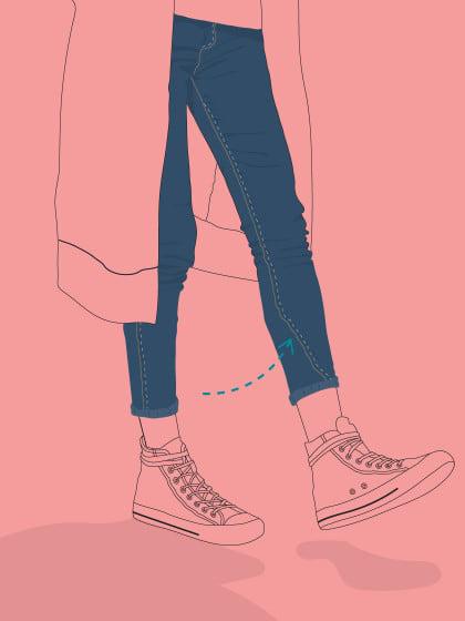 Warum verdreht sich die Jeansnaht? Wir sagen es dir & verraten, was man dagegen tun kann