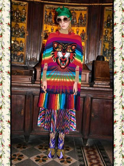 Fasching? Nein, Fashion! Und zwar geniale von Gucci. Wir sind total verliebt…