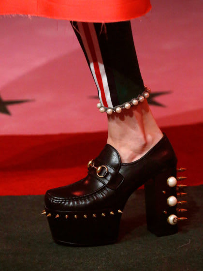 Diese Gucci-Schuhe werden wir in der nächsten Saison lieben!!