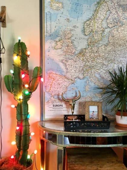 Alles andere als kitschig! Kreative Deko-Ideen mit Lichterketten