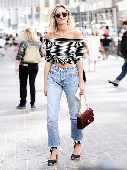 Perfekt für JEDE FIGUR: So kombiniert ihr eure High Waist Jeans