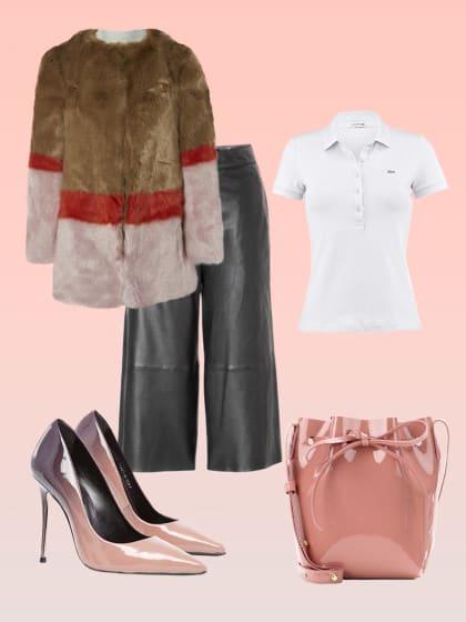 Unser Fashion Pick of the Week: Lacoste-Poloshirt und tigha-Culotte – das perfekte Match