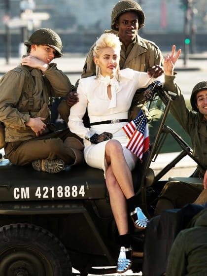 Madonna, bist du's? Ihr werdet nie erraten, wer hier auf Pop-Queen macht…
