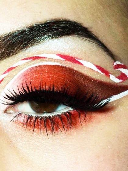 Das Augen Make-up, das alle Instagramer an Weihnachten rocken