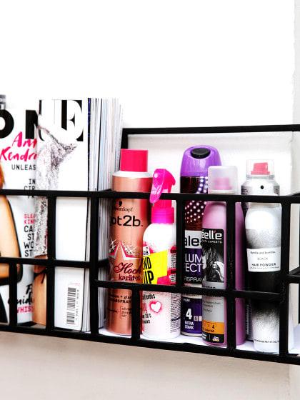 6 Ideen, wie du Kosmetik aufbewahren kannst