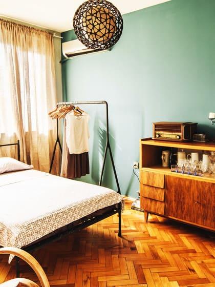 vintage schlafzimmer einrichten –verspielte blumenmuster als, Schlafzimmer design