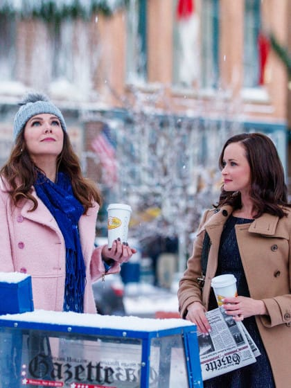 Gilmore Girls Style Now and Then: Lorelai und Rory im Fashion-Check