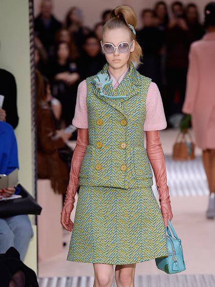 Die Mailand Fashion Week im Schnelldurchlauf: Prada