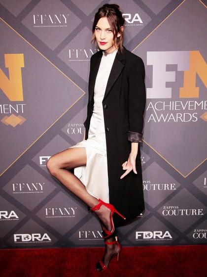 Ist es fashionmäßig eigentlich okay, Strumpfhosen in offenen Schuhen zu tragen?
