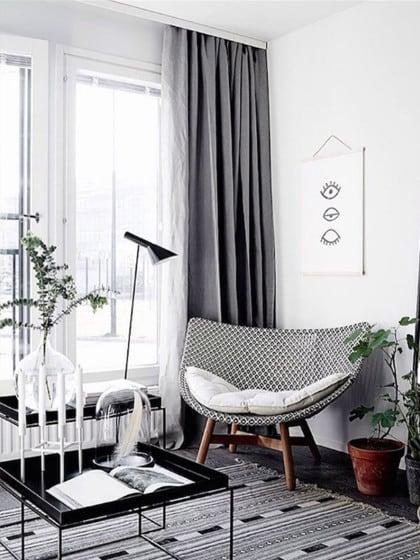 Wohnzimmer in Grau: 7 einfache Tipps, wie du die Trendfarbe richtig kombinierst