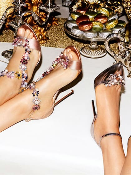 Die schönsten Bling-Bling-Schuhe für deinen Silvester-Auftritt
