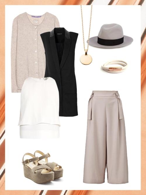 business look mit plateau sandalen dein b ro outfit f r morgen stylight. Black Bedroom Furniture Sets. Home Design Ideas
