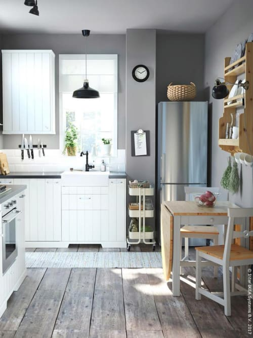 stauraum k che 5 praktische inspirierende ideen stylight. Black Bedroom Furniture Sets. Home Design Ideas