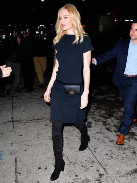 Kate Bosworth mit XS-Gürteltasche