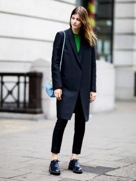 Blazer-Mantel für Damen
