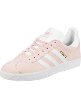 Adidas Blanche Et Rose Pale
