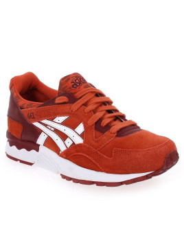 Baskets mode Asics GEL LYTE 5 Rouge Femme