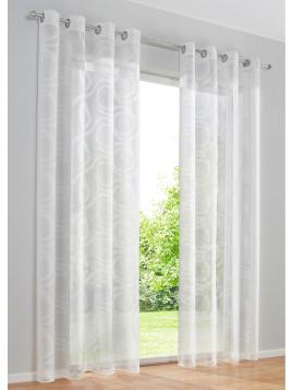 gardinen in wei 722 produkte sale bis zu 50 stylight. Black Bedroom Furniture Sets. Home Design Ideas