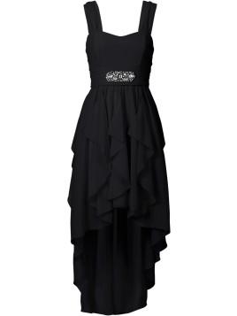 Maxi-Kleid in schwarz von bonprix