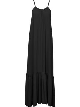 Maxi-Kleid ohne Ärmel in schwarz von bonprix