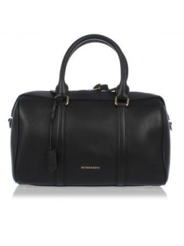 Grained Leather Bowling Bag Herbst/Winter