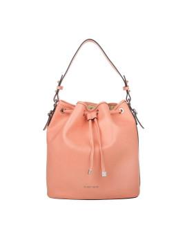 Tasche - Mel Saffiano Bucket Bag Fragola - in rosa - Umhängetasche für Damen
