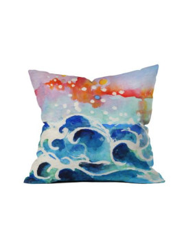 Tides Of Time Throw Pillow 18