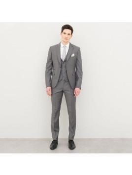 Veste de costume gris 100%laine