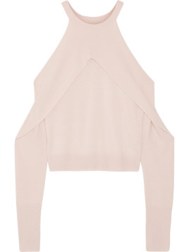 Pullover aus Merinowolle mit Cut-outs
