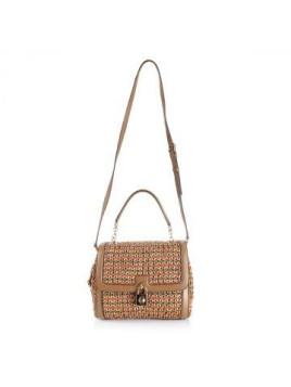 Intertwined Straw Handbag Mod. RAGUSA Frühling/Sommer