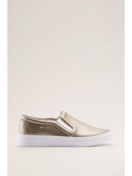 Slipper mit Sneaker-Sohle für Damen Pale Khaki