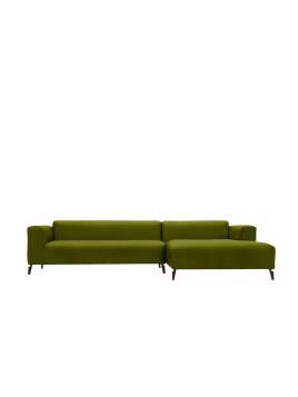 freistil 186 Sofa 3-Sitzer mit Longchair rechts