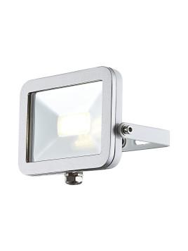 EEK A+, Außenleuchte Construction II - Silber & Weiß - Aluminium Druckguß, Globo Lighting