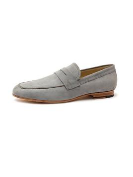 Enzo 623026 Herrenschuhe Herren Businessschuhe, Mokassins, Halbschuhe, Anzugsschuhe, Derby Schuhe, Blake Grau (grey), EU 45
