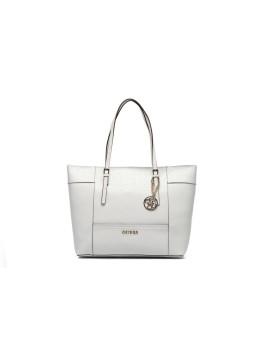 Delanay - Medium Classic Tote - Handtaschen /weiß