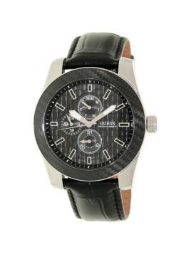 montre guess dress steel chronographe