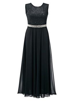 Große Größe: Guido Maria Kretschmer Damen Abendkleid schwarz Normal-Größen Für Ihren eleganten Auftritt