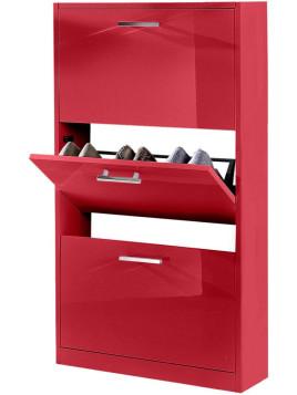 Schuhschrank »Parma«, Höhe 103 cm rot FSC-zertifiziert