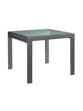Tisch grau Breite 90-180 cm