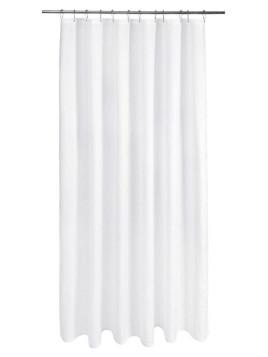 Unisex Duschvorhang weiß Inklusive Aufhängeösen