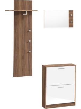 Unisex Garderoben-Set »Torino« (3-tlg.) natur In vielen Farben erhältlich